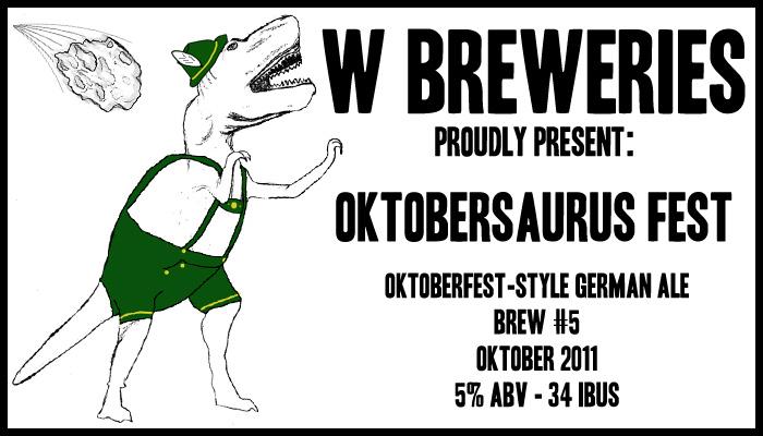 Presenting Brew #5 – Oktobersaurus Fest!